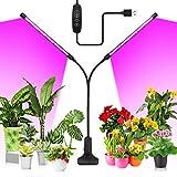 20W LED Pflanzenlampe, KOOSEED 40LEDs Pflanzenlicht mit 3...