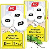 PIC - Boîte d'appâts pour fourmis - Appâts pour fourmis pour l'intérieur, ...