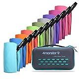 Toallas de microfibra 4Monster en 10 colores, ...