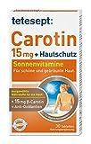 tetesept Carotin 15 mg + Hautschutz – Beta-Carotin & Antioxidantien – 1 x 30...