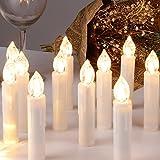 CCLIFE TÜV GS LED Christmas Candles Wireless RGB Candles Kleurrijke ...