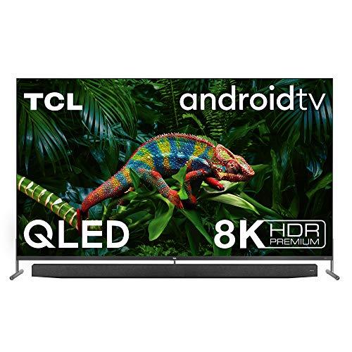 TCL 75X915 8K QLED Fernseher Smart TV (HDR Premium 1000 nits, Dolby Vision...