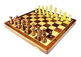 StonKraft Handmade Premium Holz 46 x 46 cm Schachspiel -...