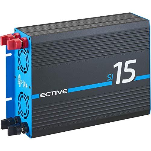 ECTIVE 1500W 12V zu 230V Sinus-Wechselrichter SI 15 Spannungswandler mit reiner...