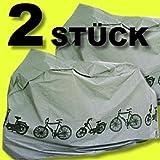 Set van 2 fietsgarages hoezen beschermkappen ...