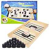 Herefun bordhockey leketøy, interaktiv 2in1 foreldre-barn ...