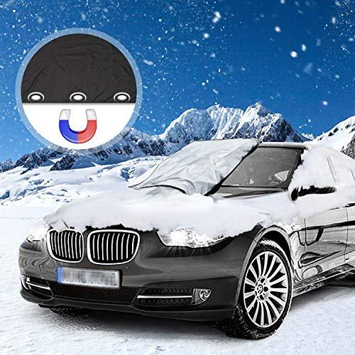 Migimi Frontscheibe Abdeckung, Frostabdeckung Magnet Eisschutz Winter...