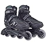 Best Sporting Inline Skates, toe width adjustable, ABEC 7 carbon ball bearings, inline skates for teenagers and ...