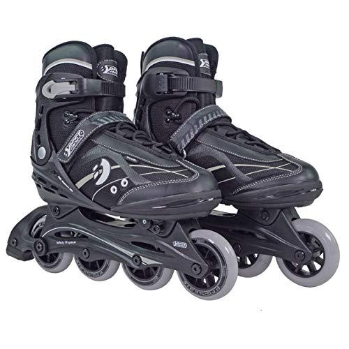 Best Sporting Inline Skates, Zehenbreite verstellbar, ABEC 7 Carbon Kugellager,...