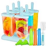 Gifort Eisform BPA Frei, 6-er Set Eisformen aus Hochwertiges...