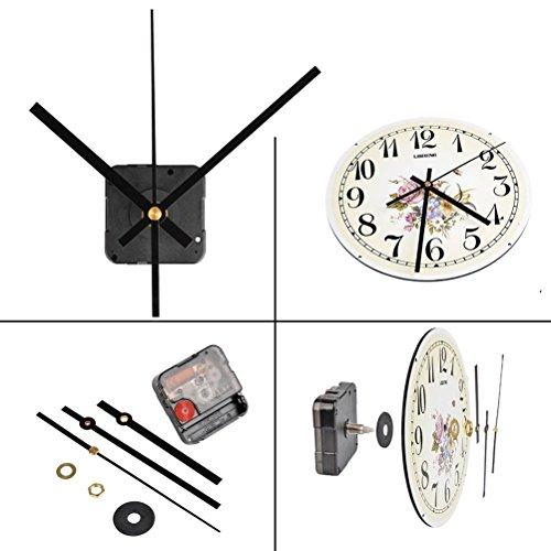 Wanduhr Satz,Fl/üsterleises Schleichendes Uhrwer Mechanismus Uhrzeiger DIY Quarz Uhrwerk