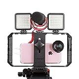 Ulanzi U-Rig Pro, smartphone video rig, filmmaking case, phone video stabilizer handle, ...