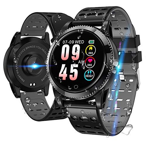 Smartwatch Smart Armband blutdruck uhr mit herzfrequenz wasserdicht Fitness Tracker aktivitätstracker gps bluetooth Sports Watch Schlafmonitor...