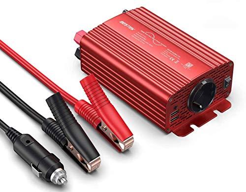 Reiner Sinus Spannungswandler 12V auf 230V BESTEK Sinus Wechselrichter 300w...