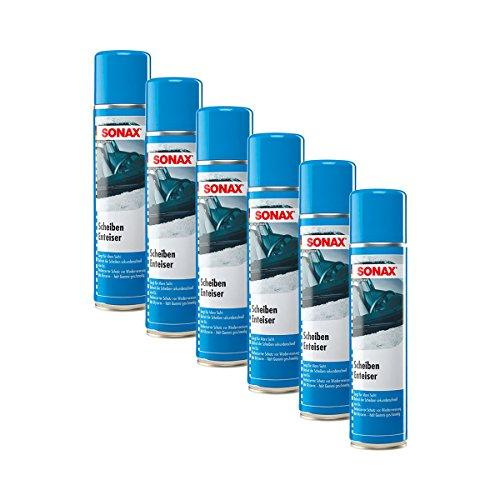 SONAX 6X 03313000 ScheibenEnteiser Eisfrei Antifrost Spray 400ml