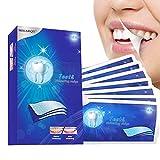 Witte strepen, heldere witte strips voor het bleken van tanden, ...