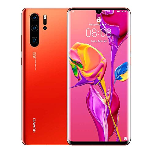 Huawei P30 Pro 128GB Handy, Orange, Android 9.0 (Pie), Dual SIM