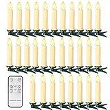 10/20/30/40 Kerst LED-kaarsen kerstverlichting kaarsen ...