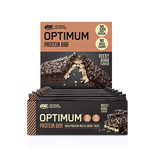 Optimum Nutrition ON Protein Bar Low Carb High Protein Riegel mit Whey Protein...