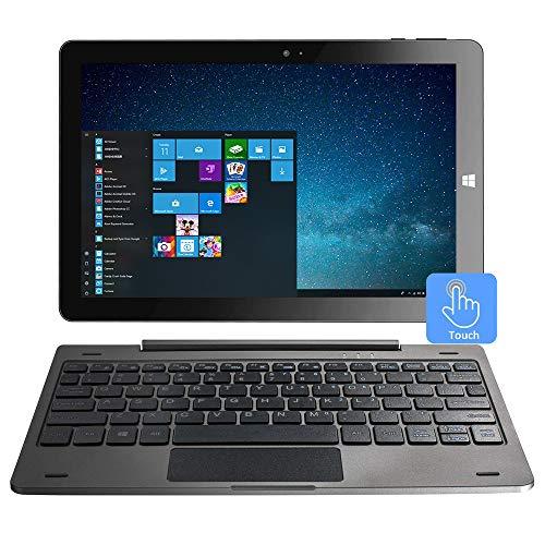 10,1 'Windows 10 Tablet-PC-Touchscreen 2-in-1-Laptop, Intel Quad Core 1.92 GHz, 4 GB DDR3, 64 GB eMMC, IPS, Bluetooth, HDMI, USB, Dual Kamera, WLAN,...