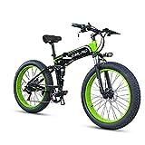 ZH elektrische fiets, 26 inch opvouwbare elek ...