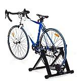 DREAMADE Sammenleggbar rulletrener, sykkeltrener med hurtigutløsing og ...