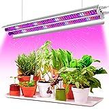 Pflanzenlampe LED, Garpsen 2FT T5 Pflanzenlicht...