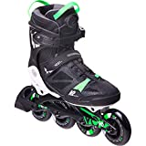 K2 Skates Men Inline Skate VO2 90 Boa M - Black - Green - EU: 39 (UK: 5.5 / US: 6.5) - 30E0880