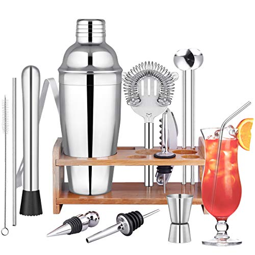 Ruiry Cocktail Shaker Set Cocktailshaker Cocktail Bar Set 15-Teilige Bar...