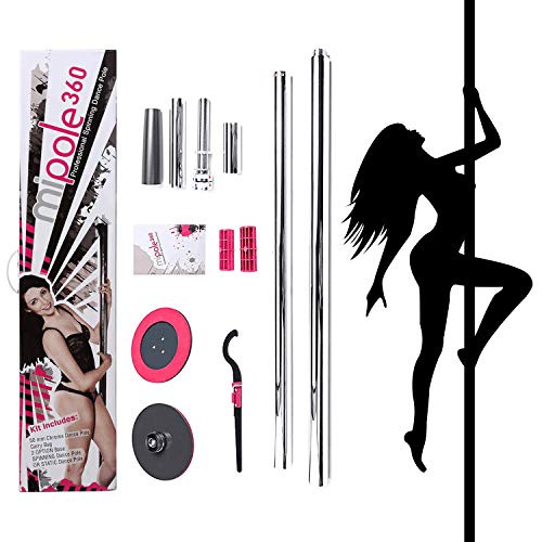 Hethrone 50mm Professional Portable Spinning Spinning & Static Dance Pole für...