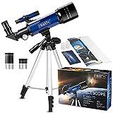 Telescopio para niños y principiantes para observar ...