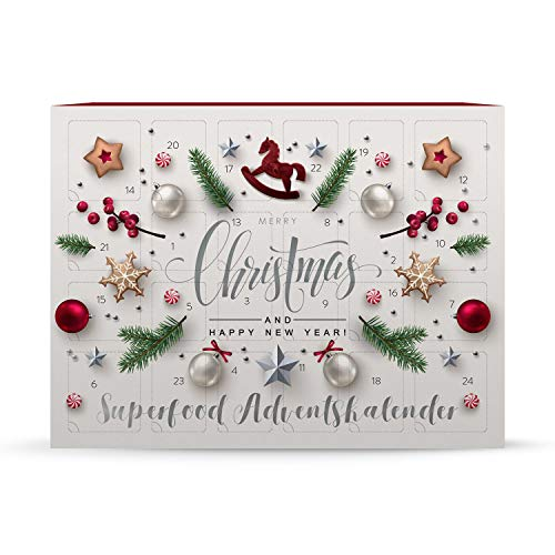 Superfood Adventskalender, Low Carb, Weihnachtskalender mit...