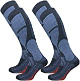 GAWILO 2 pairs of men's THERMOLITE ski socks - snowboard socks - functional socks with special padding, ...