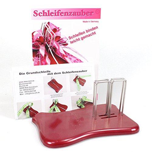 ideal zum Binden von Schleifen und Rosen aus B/ändern//Variante Gold Kreativpackung//Schleifenfix inkl Rosenfix