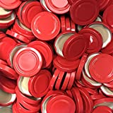 100 штук от X до 58 мм, красная завинчивающаяся крышка для очков • ...