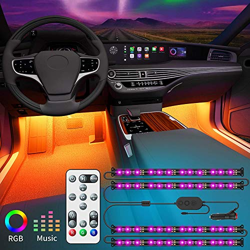 Govee LED Auto Innenbeleuchtung, steuerbar via Fernbedienung,...