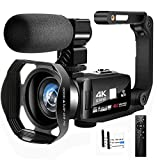 Camcorder Video Camera Full HD Camcorder 4K 48.0MP IR Night Vision Vlogging Camera for YouTube 3.0 '...