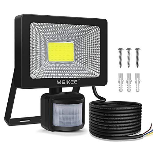 MEIKEE 20W LED Strahler mit Bewegungsmelder 2000 LM superhell LED Fluter IP66 wasserdicht Außenstrahler Flutlichtstrahler Scheinwerfer Licht, ideale...