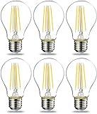 Amazon Basics E27 LED lamp, 7W (vervangt 60W), helder, ...
