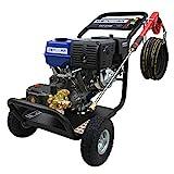 Hidrolimpiadora de gasolina de 250 bar con motor de 9,6 KW (13 HP)