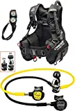 Cressi 1946 Start Pro Scuba Set - Int Tauch Diving, Schwarz, L