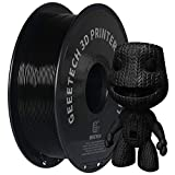 GEEETECH PLA filament 1,75 mm, 1kg spool, 3D printer PLA + filament, black