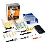 Premium Maler Set - 29-teiliges Renovierungs-Set – Streich Set –...