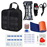 GRULLIN Survival First Aid Kits 39 Pieces Portable ...