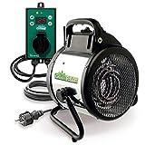 Bio Green Elektrogebläseheizung Palma, 2000 Watt,...