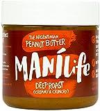 Manilife stark geröstete, knusprige Erdnussbutter, 295g, 295 g