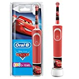 Oral-B Kids Cars Electric toothbrush for children from 3 years, small brush head & soft bristles, ...