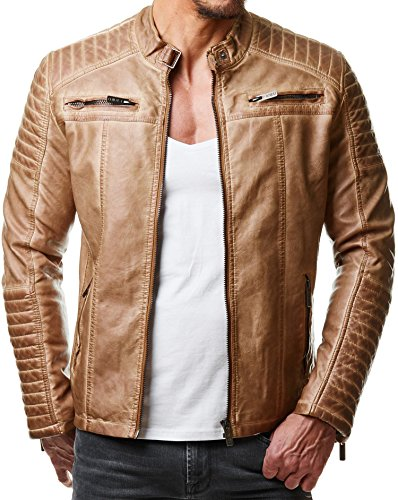 Redbridge herenjack transition jacket biker imitatieleer ...