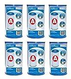 Intex - 6 waterfilterpatronen 'A'