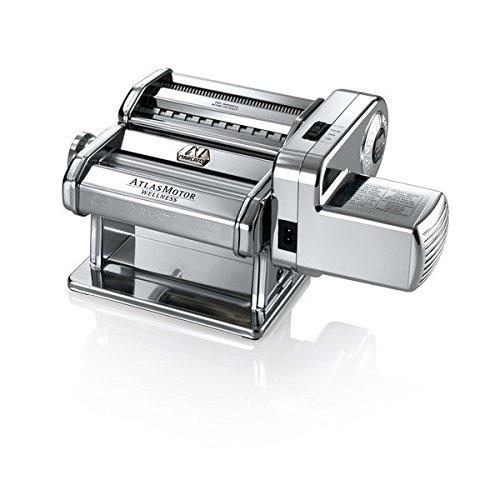 Marcato 08 0155 12 00 Atlas Nudelmaschine, Stahl, silber